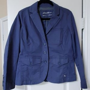 NWOT Eddie Bauer Legend Wash Stretch Blazer